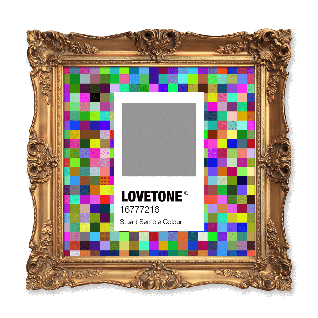 LOVETONE® (1-of-1) The World's Most Colorful Color by Stuart Semple